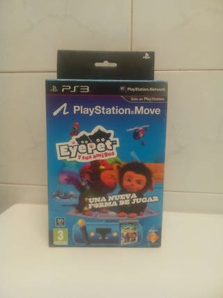 Juego PS3 Eyepet completo.