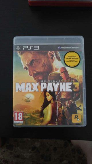 Juego Ps3 Max Payne 3