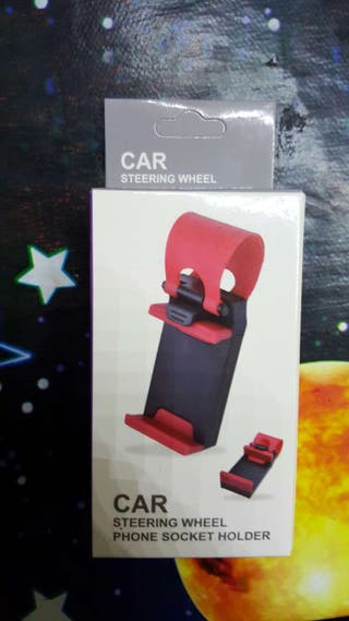 Car soporte telefono en el volante