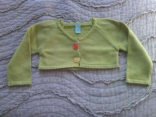 Jersey verde de bebe