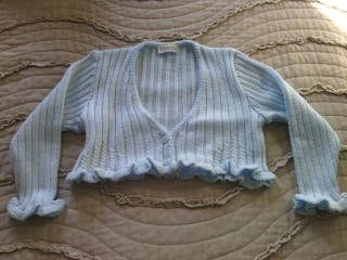 Jersey azul claro para bebe