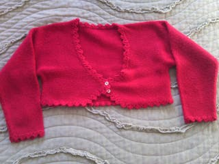 Jersey rojo de bebe