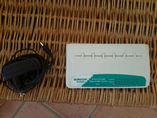 mini switch ethernet 8 puertos 10/100M modelo EP-808SX