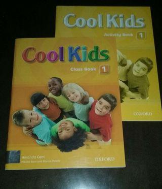 """Libros nuevos """"Cool Kids 1"""" de Oxford"""