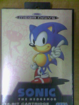 Sonic the Hedgehog Sega Mega Drive