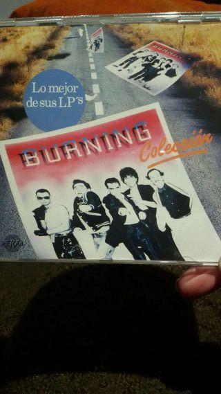 CD de burning