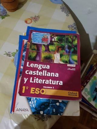 Libros de 1 ° y 2 °eso..