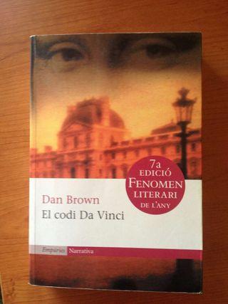 "Libro ""El codi Da Vinci"""