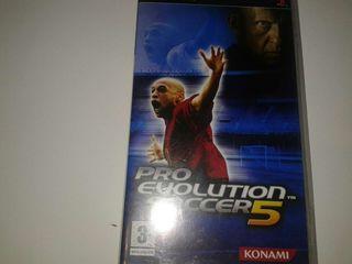 Pro evolution 5 psp