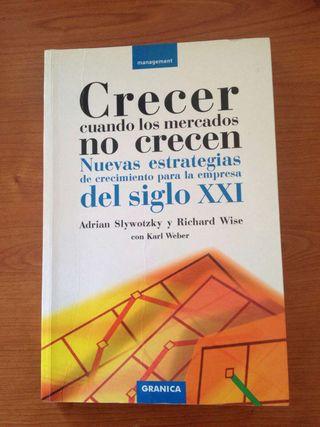 """Libro """"Crecer cuando los mercados no crecen"""""""