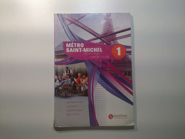 Francés, 1°Bachillerato, Métro Saint-Michel 1, Livre de l'éleve, Ed. Santillana