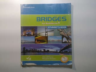 Inglés 1°Bachillerato, Bridges for bachillerato 1, Student's Book, Ed. Burlington Books