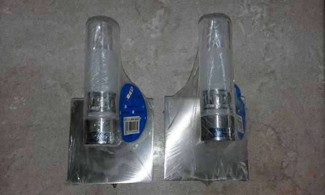 2 Apliques de luz de unos 10cm