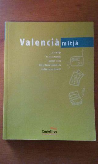 """Libro """"Valencià mitjà"""" Ed. Castellnou"""
