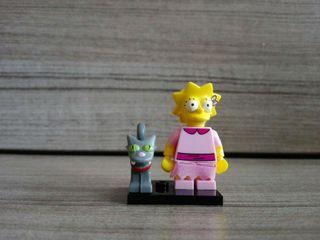 Minifigura lego lisa simpson