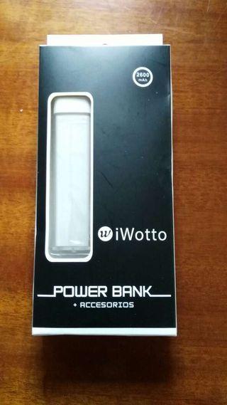 Power Bank 2600 mah litio