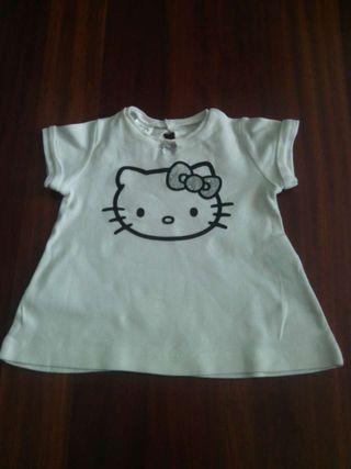 Camiseta de Hello Kitty de bebr