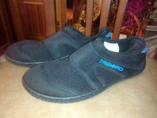 Zapatillas neopreno agua
