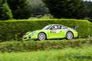Porsche 997gt3 cup rallye