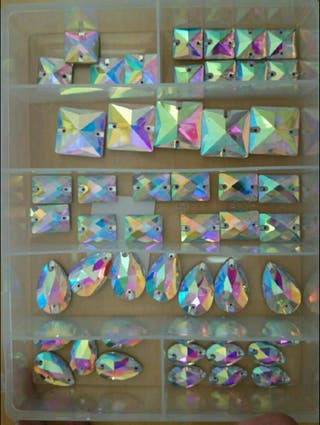Cristales de coser.
