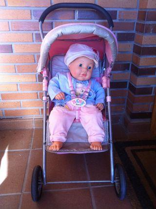 Cochecito para muñecas