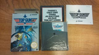 Top Gun the second mission NINTENDO