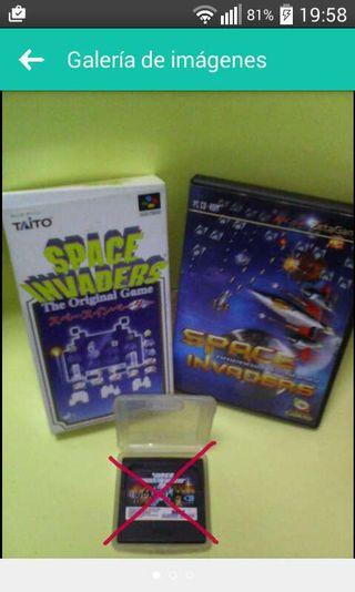 space invaders superfamicom+regalo