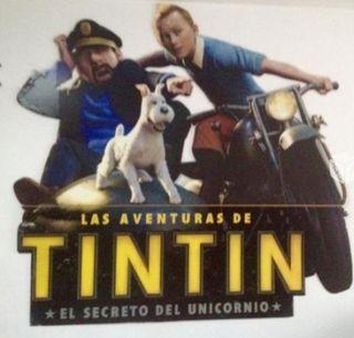 Cartel Tintin Película
