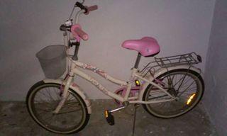 Bicicleta de barbie para niñas