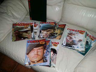 Colección revista comando