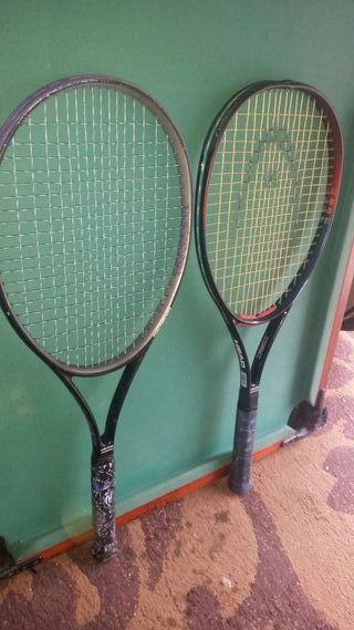 9 raquetas de tenis