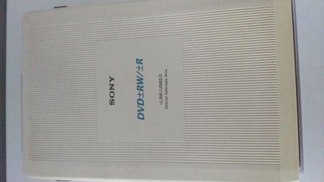 grabadora externa para cd/dvd SONY