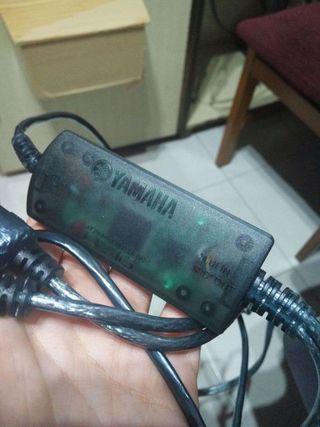 Cable MIDI USB Yamaha
