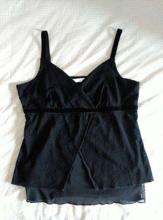 Camiseta/top negro Promod 4
