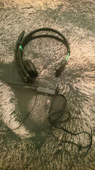 Cascos para Xbox 360 con microfono.