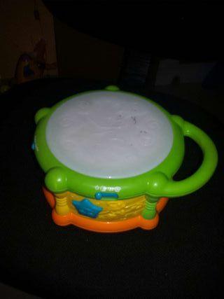 Tambor percusión a pilas