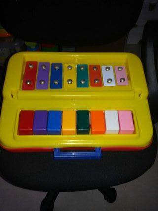 Piano xilófono infantil