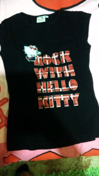 Camiseta hello kitty!!!