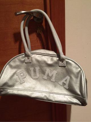Bolso Puma Plateado
