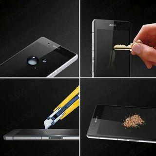 Cristal templado para Sony Xperia Z5,Z4,Z3,Z2,Z1,Z