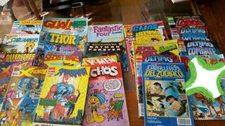 Comics marvel y heroes