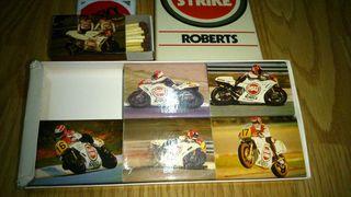 Cajas cerillas team Roberts Lucky Strike.