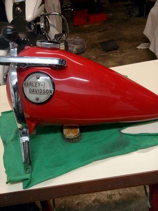 Deposito original Harley del año 56-57'