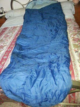 Saco de dormir - azul.