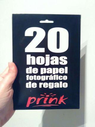 regalo Papel fotográfico prink