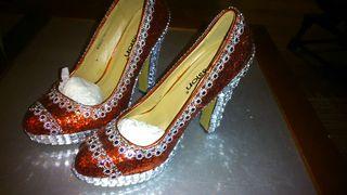 Zapatos de plataforma.de diseño