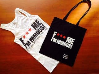 F***ME I'M FAMOUS! Camiseta CHICA