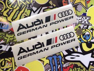 Vinilo Audi Sport German Coche