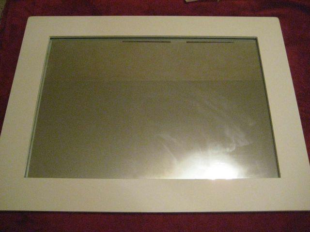 Espejo marco madera blanco de segunda mano por 25 € en Jerez de la ...