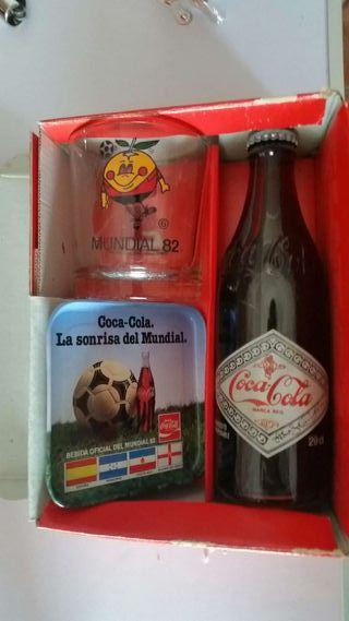 Coleccion cocacola mundial 82